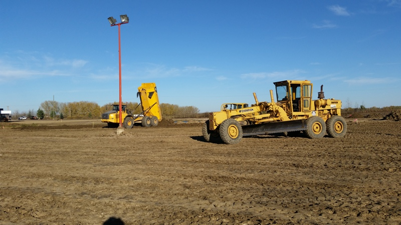 Excavation Lloydminster - Grader 1