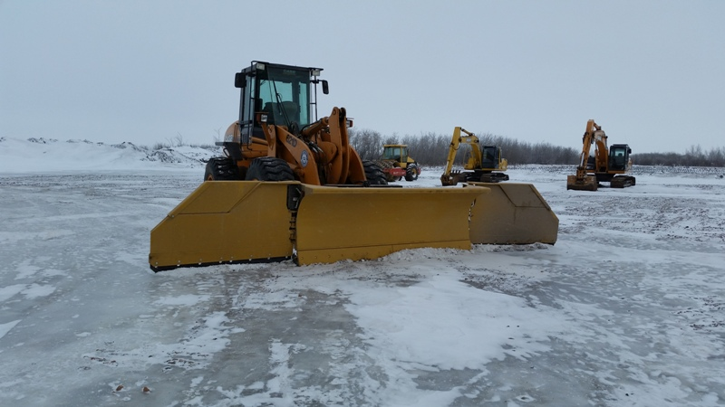 Snow Removal Lloydminster - Loaders 1
