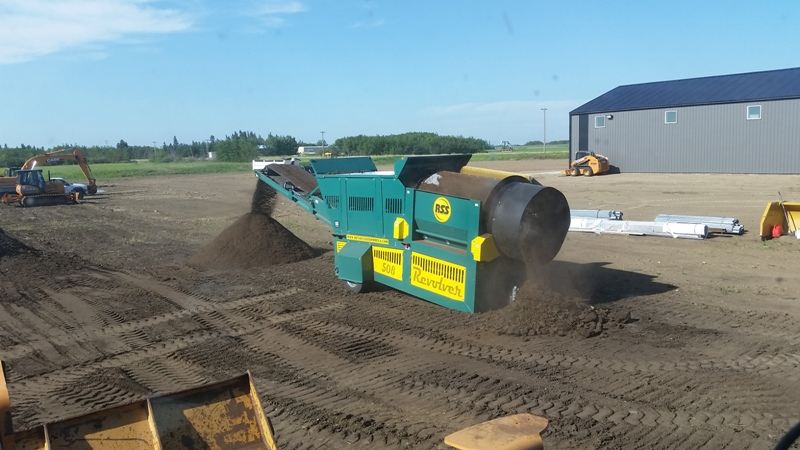 Excavation Lloydminster - Soil Screener 2
