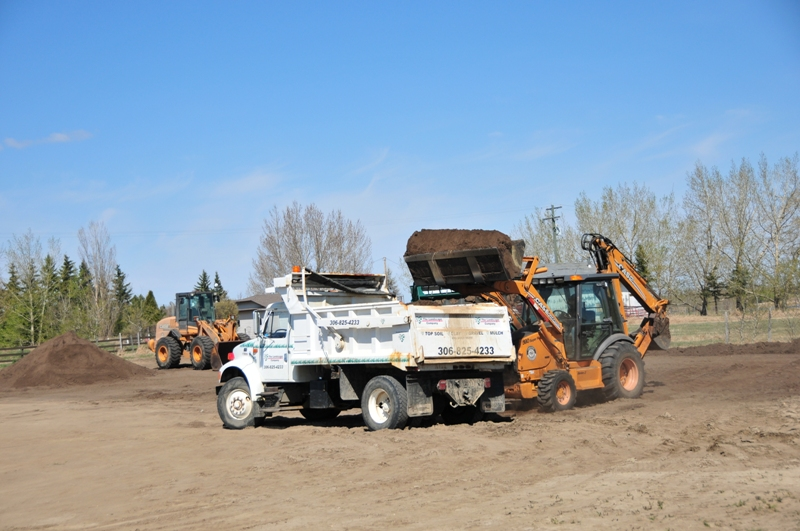 Septic Systems Lloydminster - Soil Screener 4