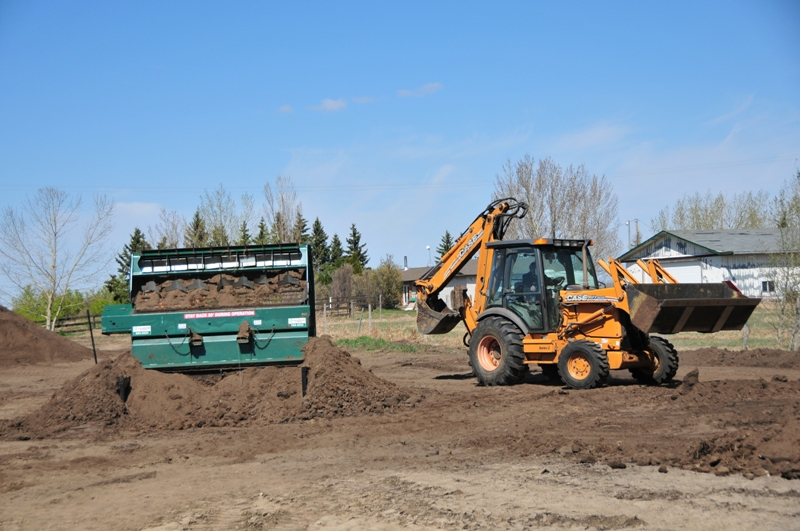 Snow Removal Lloydminster - Soil Screener 6