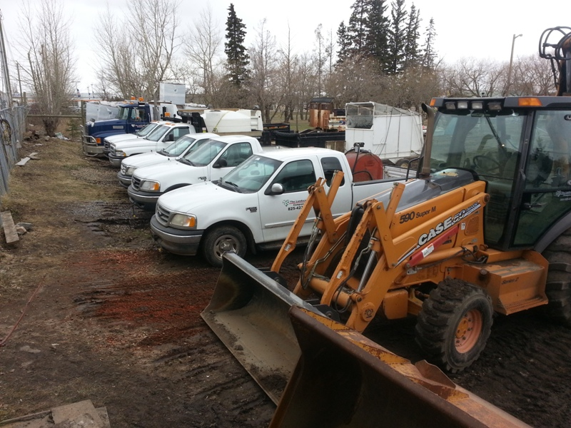 Septic Systems Lloydminster - Trucks 1