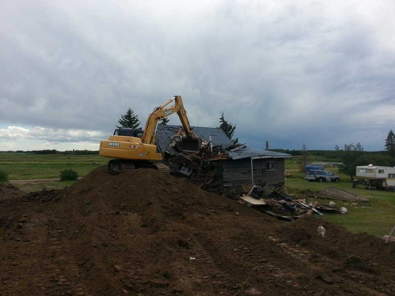 Septic Systems Lloydminster - Demolition 1