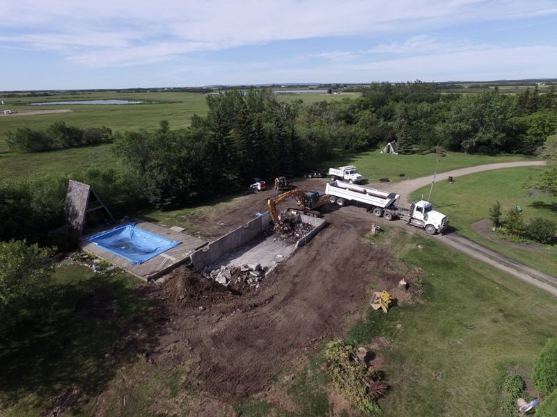 Septic Systems Lloydminster - Demolition 10