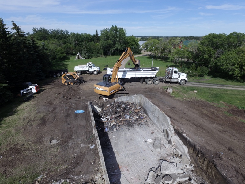 Septic Systems Lloydminster - Demolition 7