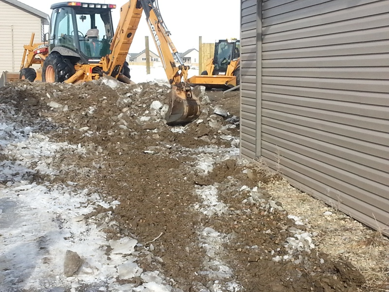 Snow Removal Lloydminster - Excavating 1