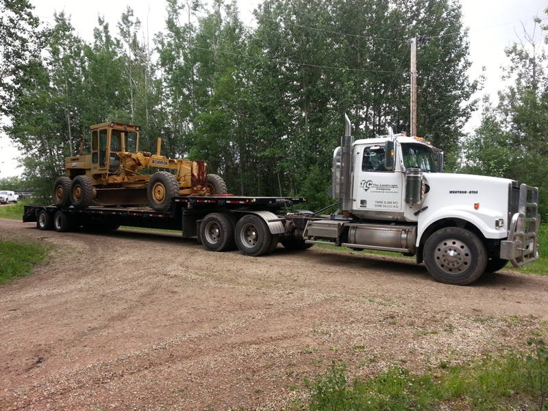 Snow Removal Lloydminster - Hauling 2