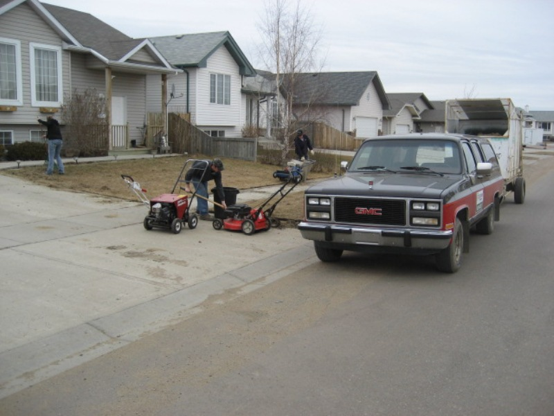Snow Removal Lloydminster - Spring Clean Ups 6
