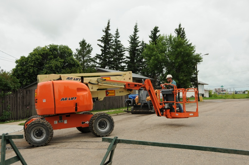 Snow Removal Lloydminster - Trees 2