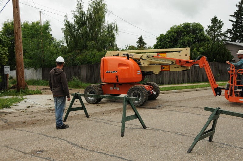 Septic Systems Lloydminster - Trees 3